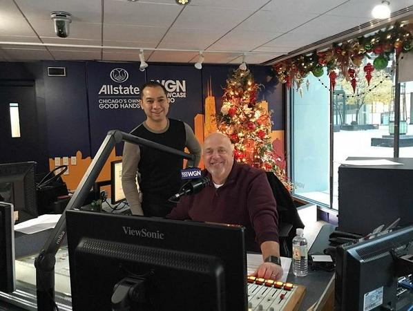 Ortega Family Agency - Discussing Allstate's Kid of the Week on WGN Radio