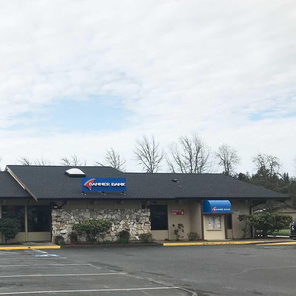 Banner Bank branch in Winston, Oregon