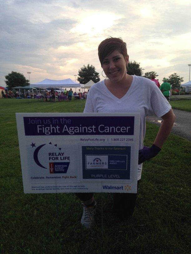 Proud sponsor of Washington County Relay for Life- Benefitting the American Cancer Society!