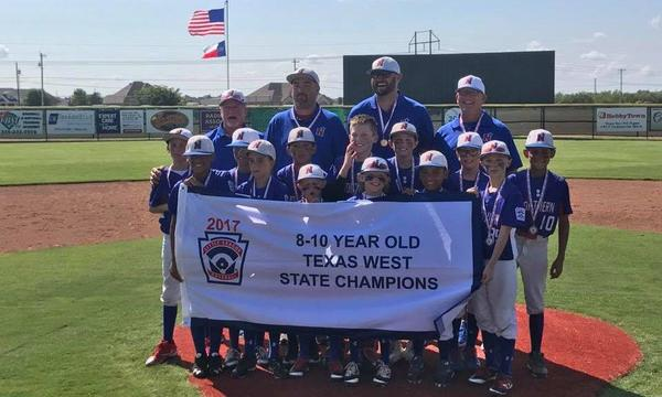 10U NORTHERN ALL STARS 2017 TEXAS WEST STATE CHAMPIONS!!!