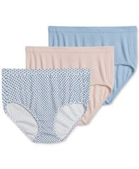 Image of Jockey Elance Breathe 3-Pack Cotton Briefs 1542