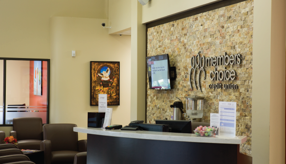 Members Choice Credit Union Grand Parkway Branch Front Desk