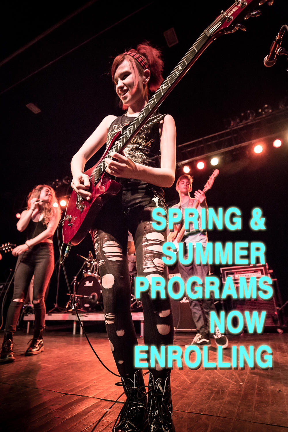 Image of SPRING & SUMMER 2018  PROGRAMS NOW ENROLLING