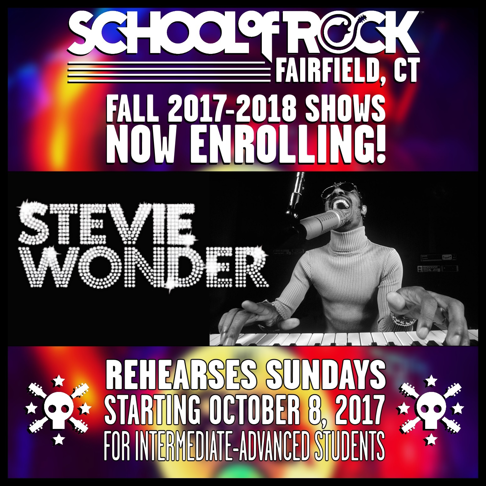 Image of FALL 2017-2018 SHOW #7: STEVIE WONDER