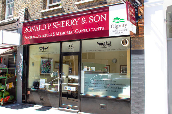 Ronald P Sherry & Son Funeral Directors in Marylebone