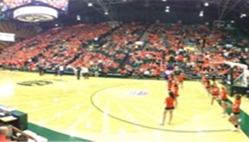 CSU Orange Out Basketball game vs SDSU