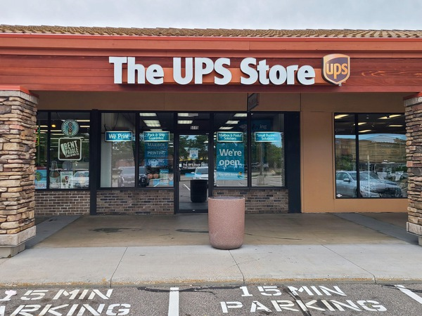 Storefront of The UPS Store in Saint Louis Park, MN