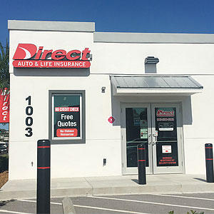 Front of Direct Auto store at 1003 First Street East, Bradenton