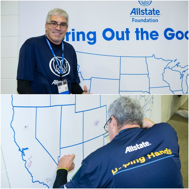 Peter Zipp - Allstate Foundation Helping Hands® Project