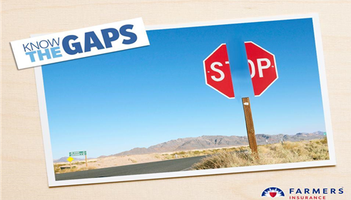 If only the signs were this easy to know your auto coverage might have gaps!