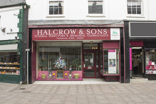 Halcrow & Sons Funeral Directors in Andover, Hampshire.