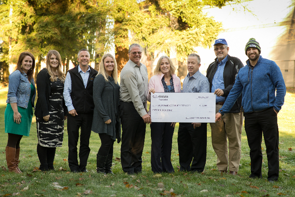 Melody J. Grondahl - Allstate Foundation Grant Supports Sherwood Community Services