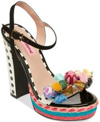 Image of Betsey Johnson Polka Dress Sandals