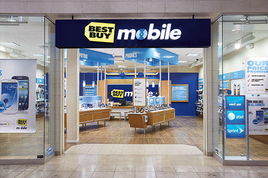 Best Buy Mobile McCain Mall Building