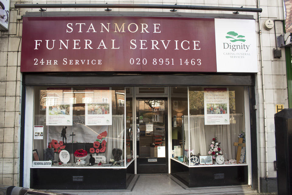 Stanmore Funeral Directors in Stanmore, London.