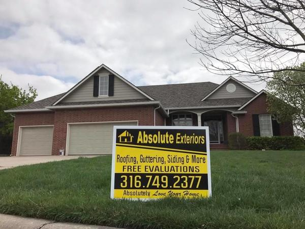 Visit our friends at Absolute Exteriors and Remodel for all your repairs and construction needs!
