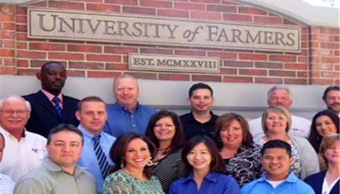 Attending the University of Farmers® in October 2012