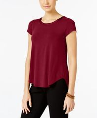Image of Alfani High-Low T-Shirt, Created for Macy's
