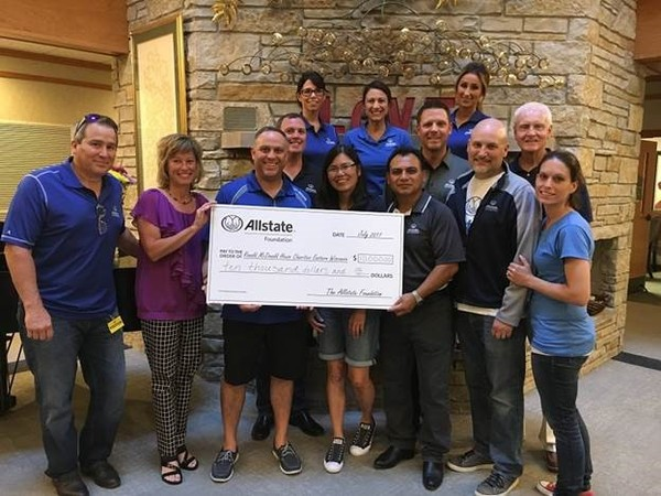 Andrew J. McCabe - Allstate Foundation Helping Hands Grant for Ronald McDonald House