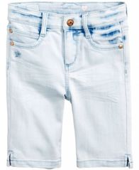 Image of Celebrity Pink Denim Bermuda Shorts, Little Girls (2-6X)