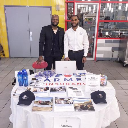 Harlem Children Zone Community Event - Farmers® Insurance Booth