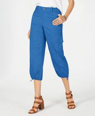 Image of Style & Co Capri Cargo Pants, Created for Macy's