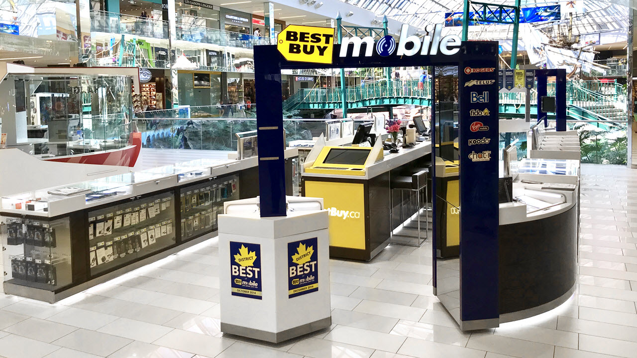Best Buy West Ed Mall