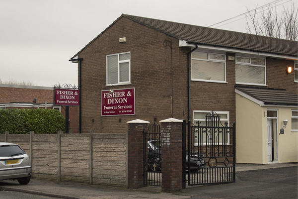 Fisher & Dixon Funeral Directors in 52 Baxters Lane, Sutton, St Helens