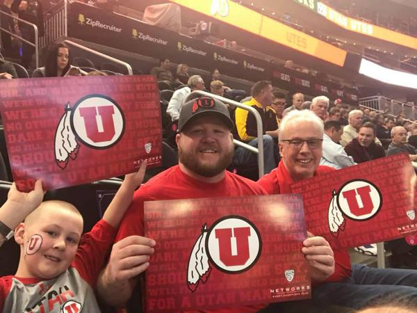 My family and I love to cheer on our Utah Utes!