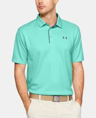 Image of Under Armour Men's Tech Textured-Stripe Polo