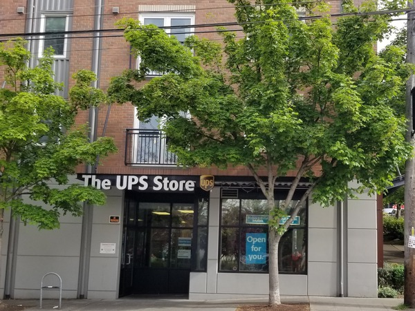 Facade of The UPS Store Seattle