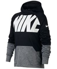 Image of Nike Therma Colorblock Hoodie, Big Boys (8-20)