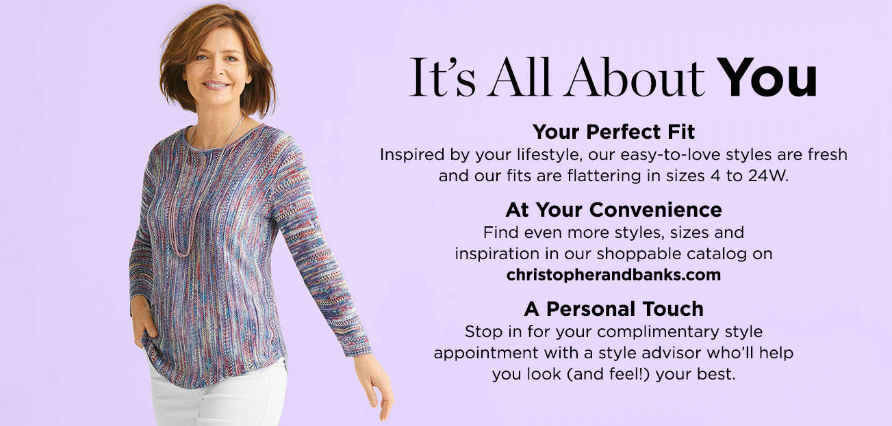 Personal Style Consultants at Christopher & Banks