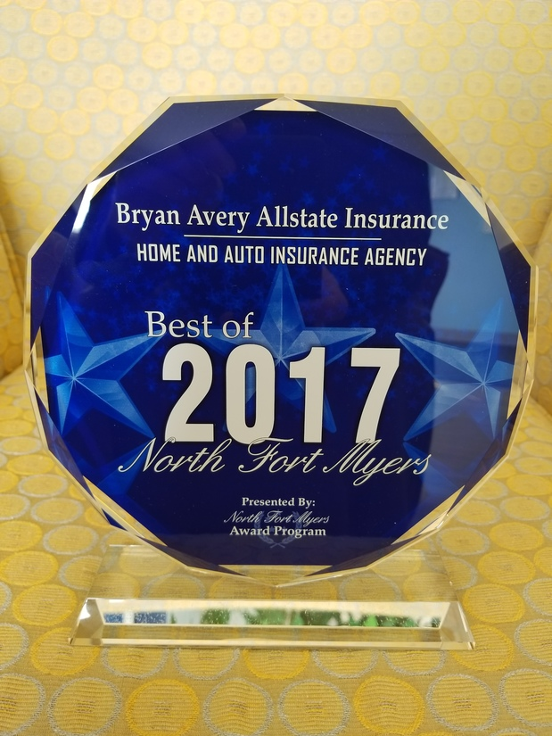 Bryan Avery - Awarded Best of North Fort Myers
