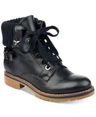Image of Tommy Hilfiger Oranda Lace-Up Booties