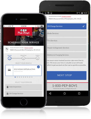Download the Pep Boys App to Schedule your Service Today