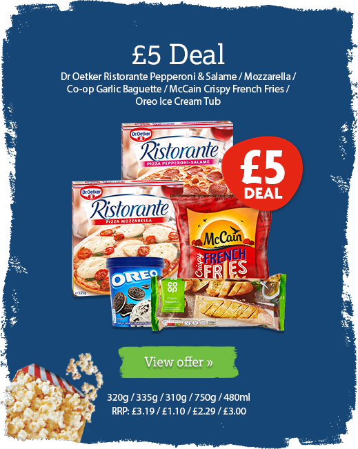 £5 deal offer available until 3rd March