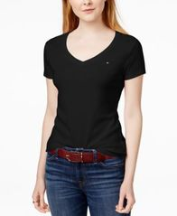 Image of Tommy Hilfiger V-Neck T-Shirt, Created for Macy's