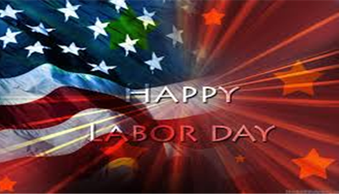 Let's celebrate the Labor Day that build up this great land.