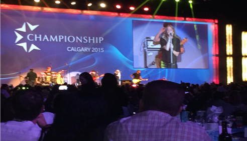Agent Sandra Macdonald attended Championship 2015 in Calgary.