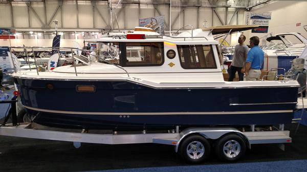 Boat show boat