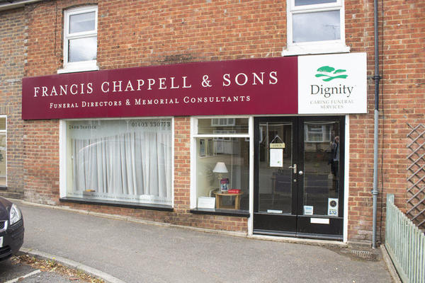 Francis Chappell & Sons Funeral Directors in Horsham
