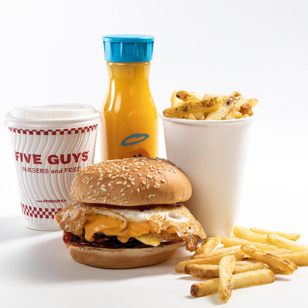 Five Guys Breakfast Menu
