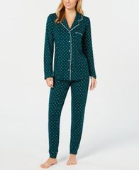 Image of Alfani Printed Pajama Set, Created for Macy's