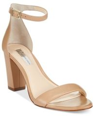Image of INC International Concepts Kivah Block-Heel Dress Sandals, Created for Macy's
