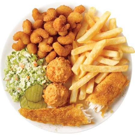 Image of Nashville Hot Fish & Popcorn Shrimp