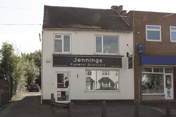 Jennings Funeral Directors in Oxley, Wolverhampton