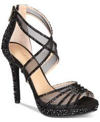 Image of Thalia Sodi Ceara Platform Evening Sandals, Created For Macy's
