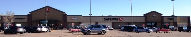Safeway Store Front Picture at 880 S Perry St in Castle Rock CO