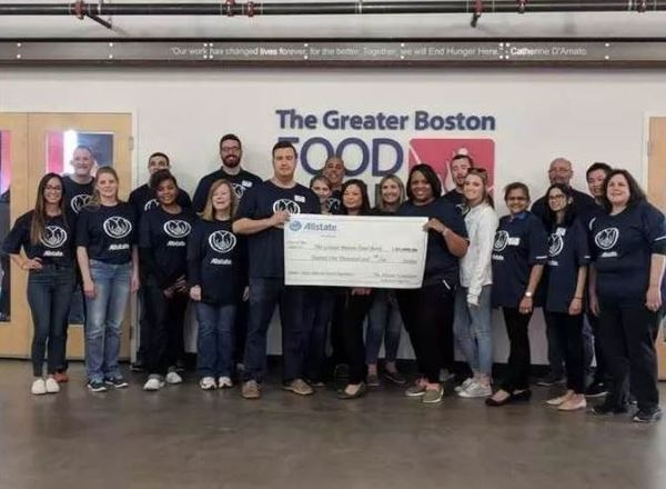 Ryan Grande - Supporting the Greater Boston Food Bank